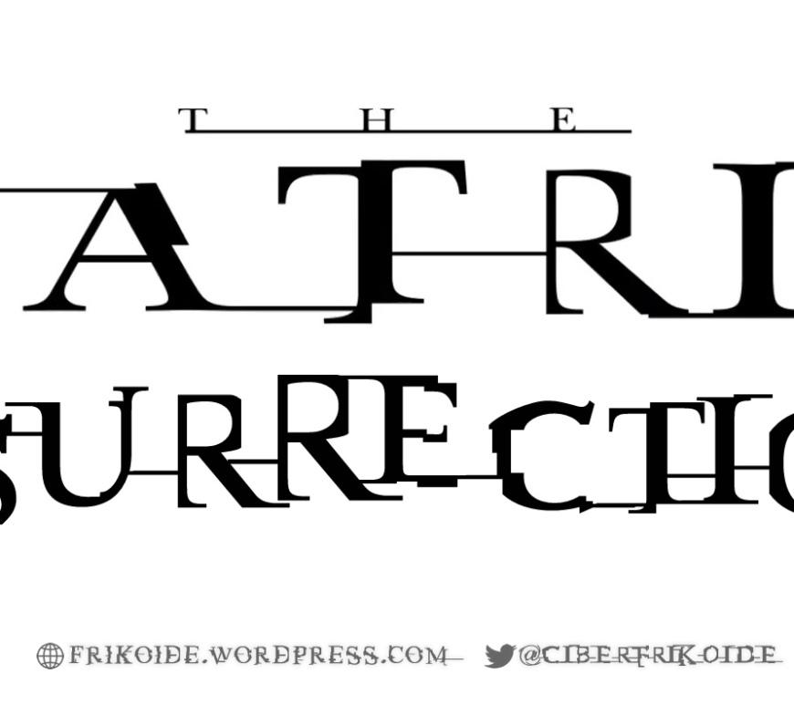 MATRIX RESURRECTIONS 4